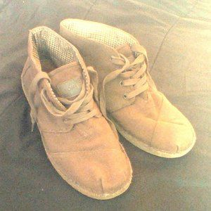 TOMS SUEDE BOOT Mens Size 10.5